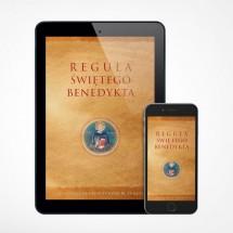 """E-book - Reguła świętego Benedykta / II księga """"Dialogów"""" św. Grzegorza Wielkiego"""