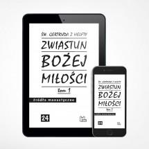 E-book - Zwiastun Bożej miłości T.1 (ŹM 24)