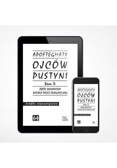 E-book - Apoftegmaty Ojców Pustyni, tom 4 (ŹM 64)