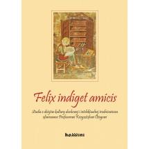 Felix indiget amicis. Studia z dziejów kultury duchowej