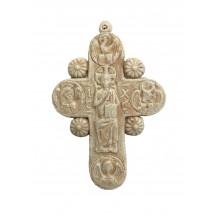 Krzyż z Chrystusem na tronie