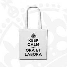 Torba Keep Calm - biała