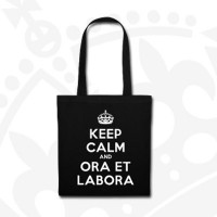Torba Keep Calm - czarna