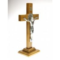 Krzyż Św. Benedykta stojący 27 cm