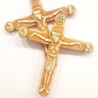 Krzyż z Sakramentarza tynieckiego