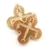 Krzyż (wersja zielona szkliwiona)