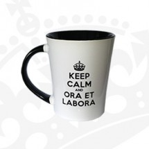 "Kubek ""KEEP CALM & ORA ET LABORA - KF Wysoki"