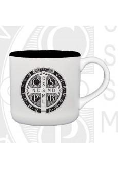 Kubek z medalikiem św. Benedykta (rewers)