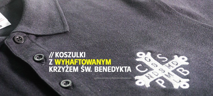 Koszulki z krzyżem św. Benedykta